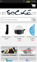 Screenshot of dieSocke.at Socken
