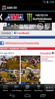 Screenshot of AMA Supercross