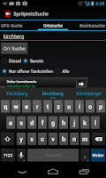Screenshot of Spritpreis Österreich & Tanken