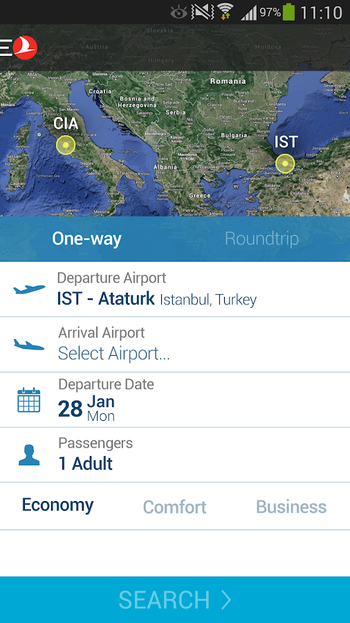 Turkish Airlines Screenshot 4