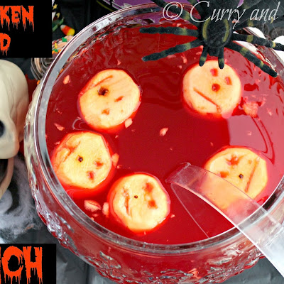 Shrunken Head Halloween Punch