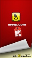 Screenshot of MyYP Yellow Pages