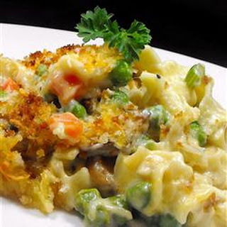 Tuna Noodle Casserole from Scratch