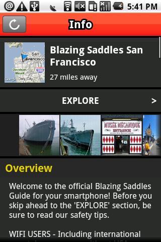 Blazing Saddles San Francisco
