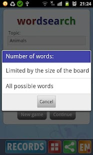 Word search APK for Lenovo