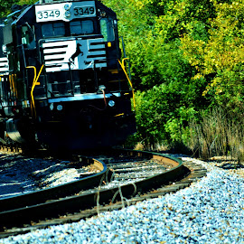 UP CLOSE AND PERSONAL! by Rhonda Rossi - Transportation Trains (  )