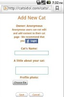 Screenshot of Cats Idol - Wallpaper & Rating