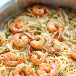 Bang Bang Shrimp Pasta