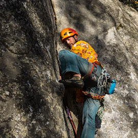 Bouldering by Michael Holser - Sports & Fitness Climbing ( climbing, yosemite, ropes, bouldering )