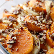 Honey Glazed Sweet Potato & Apple Casserole