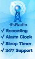 Screenshot of tfsRadio Japan ラジオ