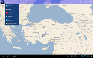 Screenshot of Arvento