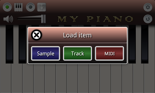 Screenshots  My Piano