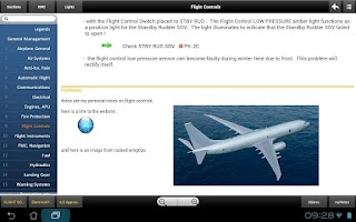 Screenshot of B737 MRG