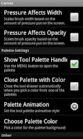 Screenshot of Canvas Pro