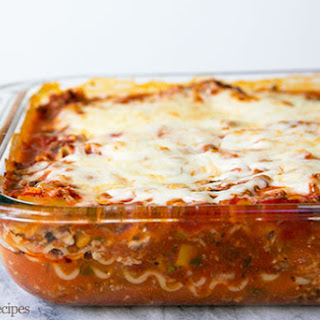 Ground Chuck Lasagna Recipes