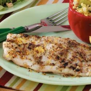 Garlic-Herb Red Snapper