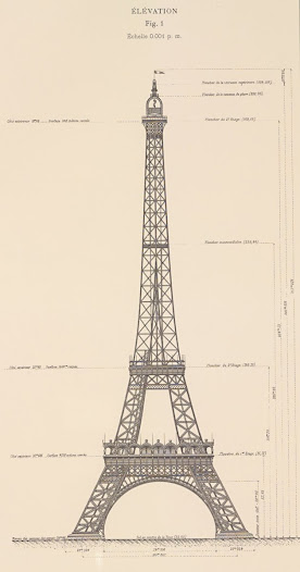 "On 18 September 1884, Eiffel registered a patent ""for a new configuration allowing the construction of metal supports and pylons capable of exceeding a height of 300 metres""."