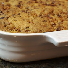 Pecan Crusted Apple-Pear Crisp with Tuaca