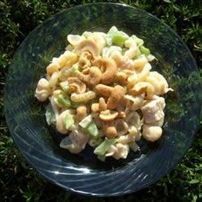 Chicken Cashew Pasta Salad