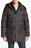 Vince Camuto Quilted Hooded Anorak