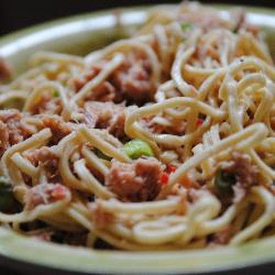 Quick Cold Tuna Noodle Salad