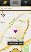 Screenshot of CSULA Maps
