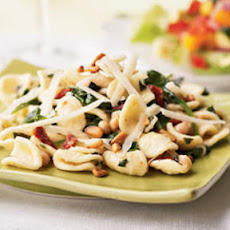 Pasta with White Beans, Greens, and Lemon