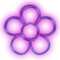 LiveHome Purple Neon Icon Pack