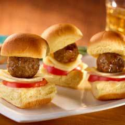 Cocktail Meatball Sliders
