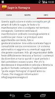 Screenshot of Sagre Romagna
