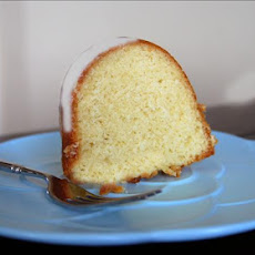 Golden Lemon Pound Cake