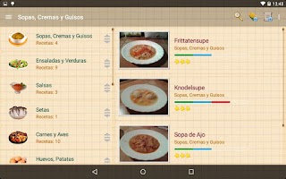 Screenshot of My Cookery Book