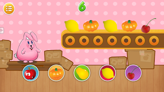 Rabbit Preschool Games - screenshot