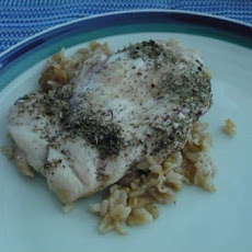 Lemon-Herb Chicken & Rice Bake