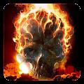 Fire Skulls Live Wallpaper APK for Bluestacks