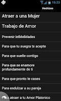 Screenshot of Hechizos de Amor