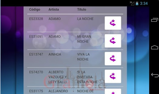 Karaoke La Gramola - screenshot