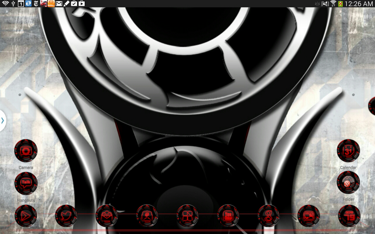 Twister Red Iconpack &for NEXT Screenshot 8