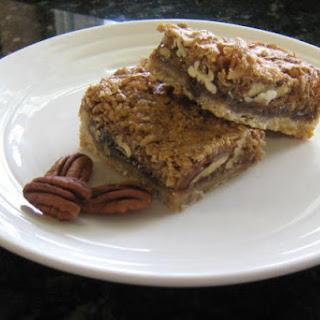 Molasses Pecan Bars Recipes