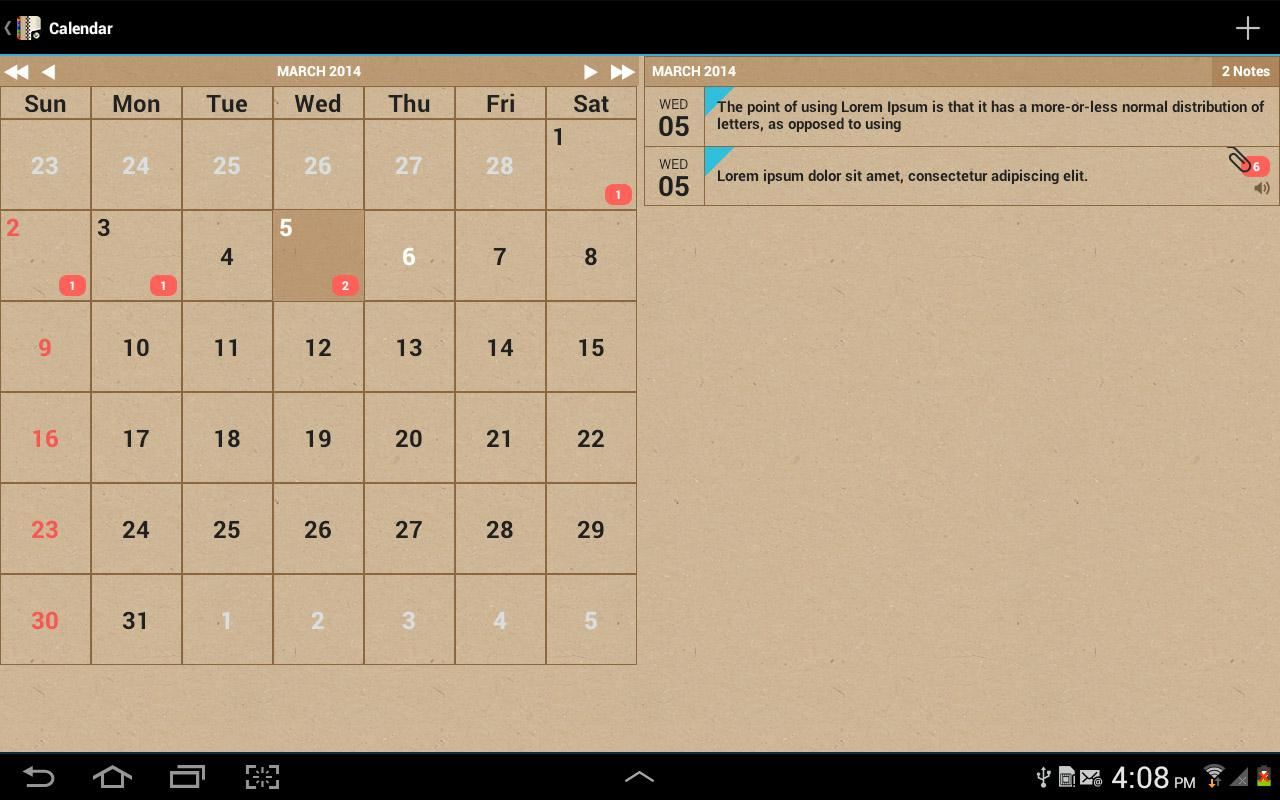 Groovy Notes - Personal Diary Screenshot 11