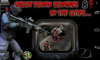 Screenshot of Shooting club 3: Zombies