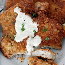 Pork Milanese with Creamy Lemon Sauce