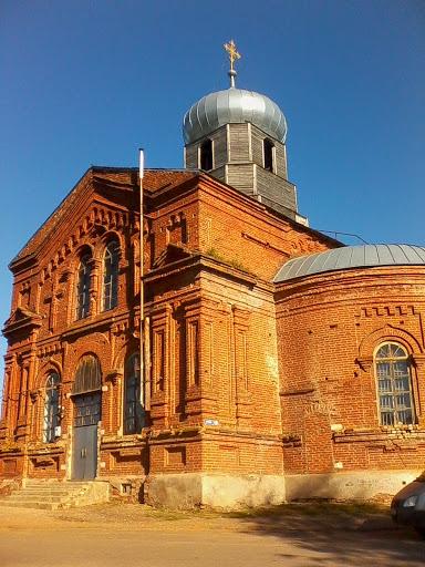 Церковь в с.Гумны