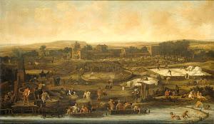 RIJKS: Pieter de Molijn: painting 1651
