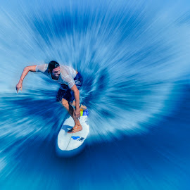 by Indrawaty Arifin - Sports & Fitness Surfing ( water, surfing, wave, sport, sea,  )