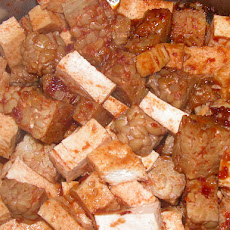 Spicy Barbecue Tofu and Tempeh