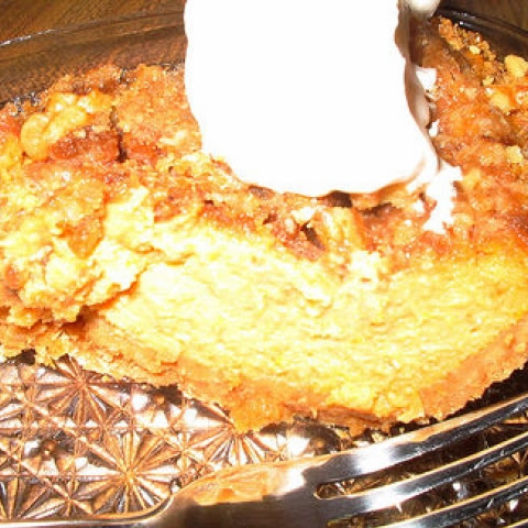 Orange-Spice Pumpkin Pie