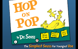 Screenshot of Hop on Pop - Dr. Seuss