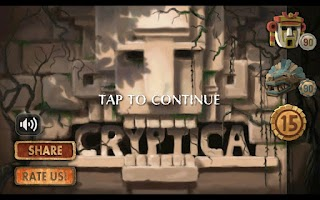 Screenshot of Cryptica